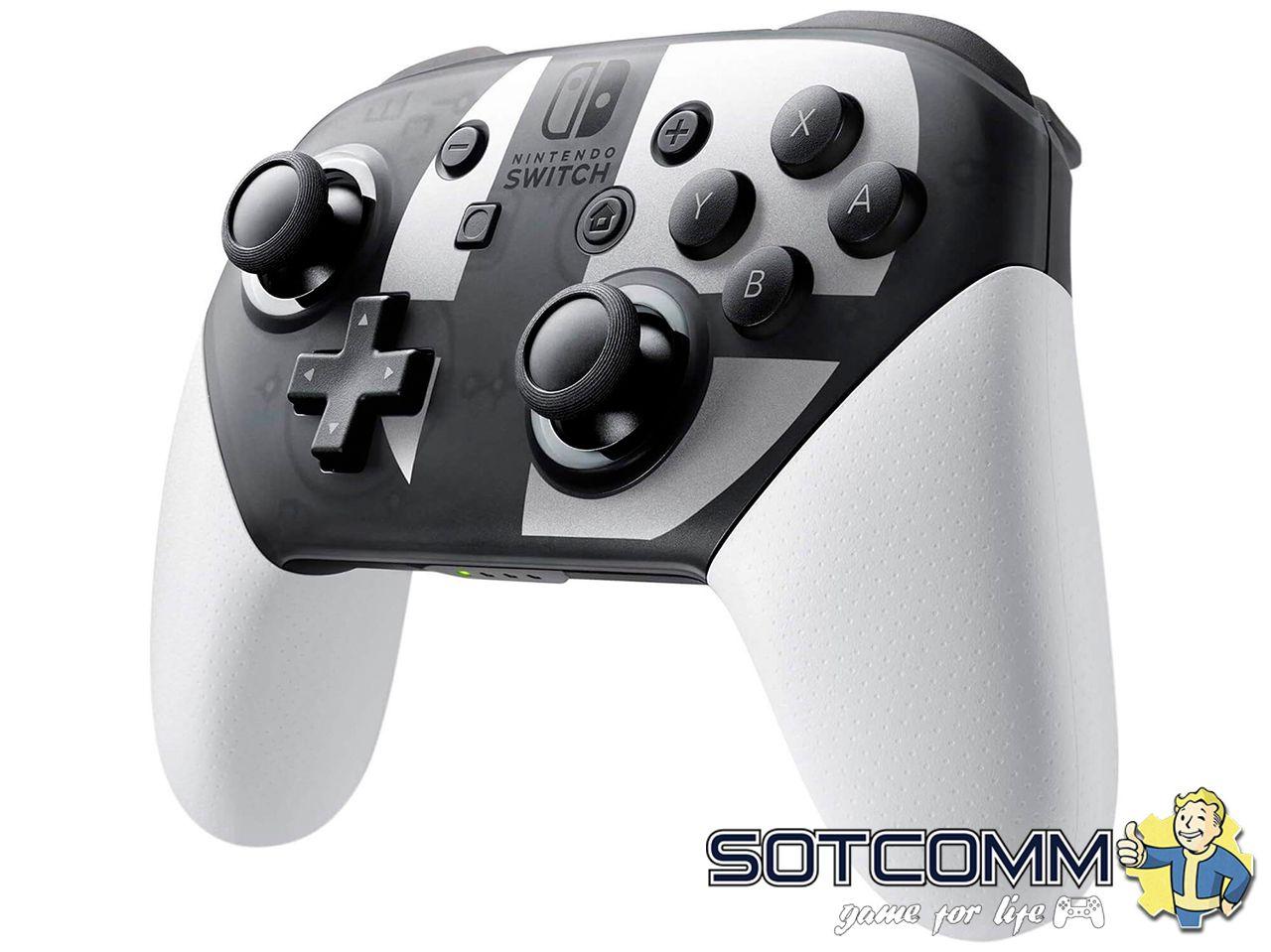 Геймпад для Switch Nintendo Pro контроллер Super Smash Bros Edition