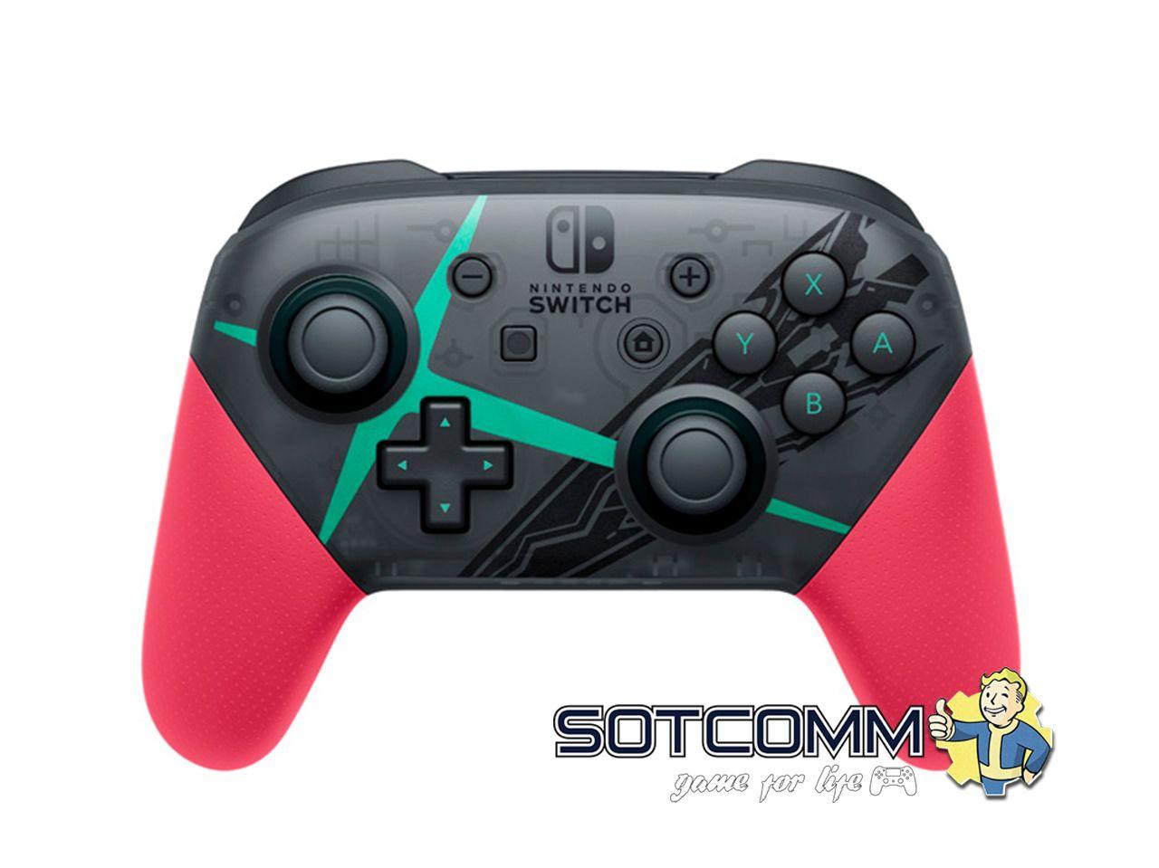 Геймпад для Switch Nintendo Pro Контроллер Xenoblade Chronicles 2