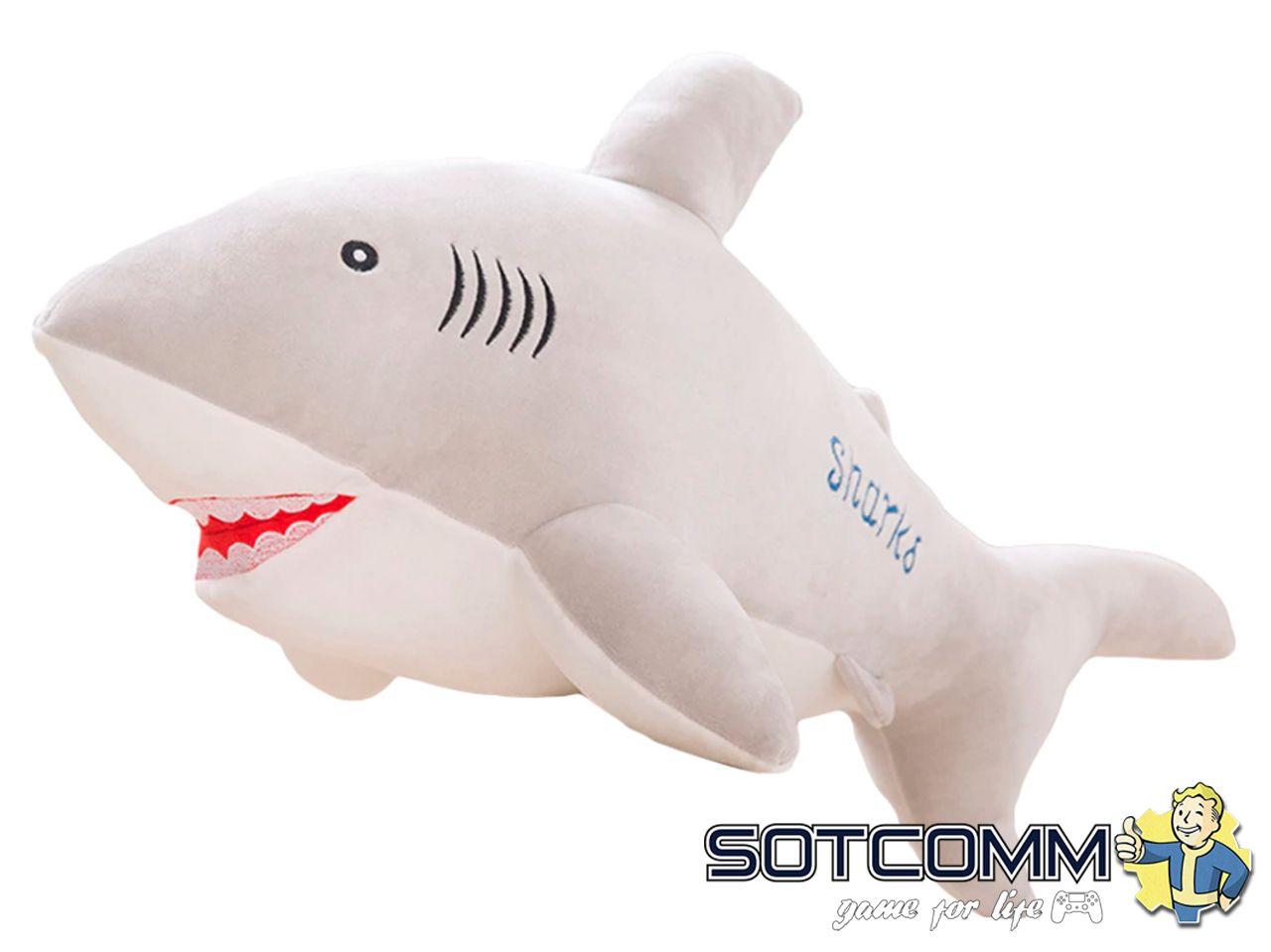 Плюшевая акула 40 см