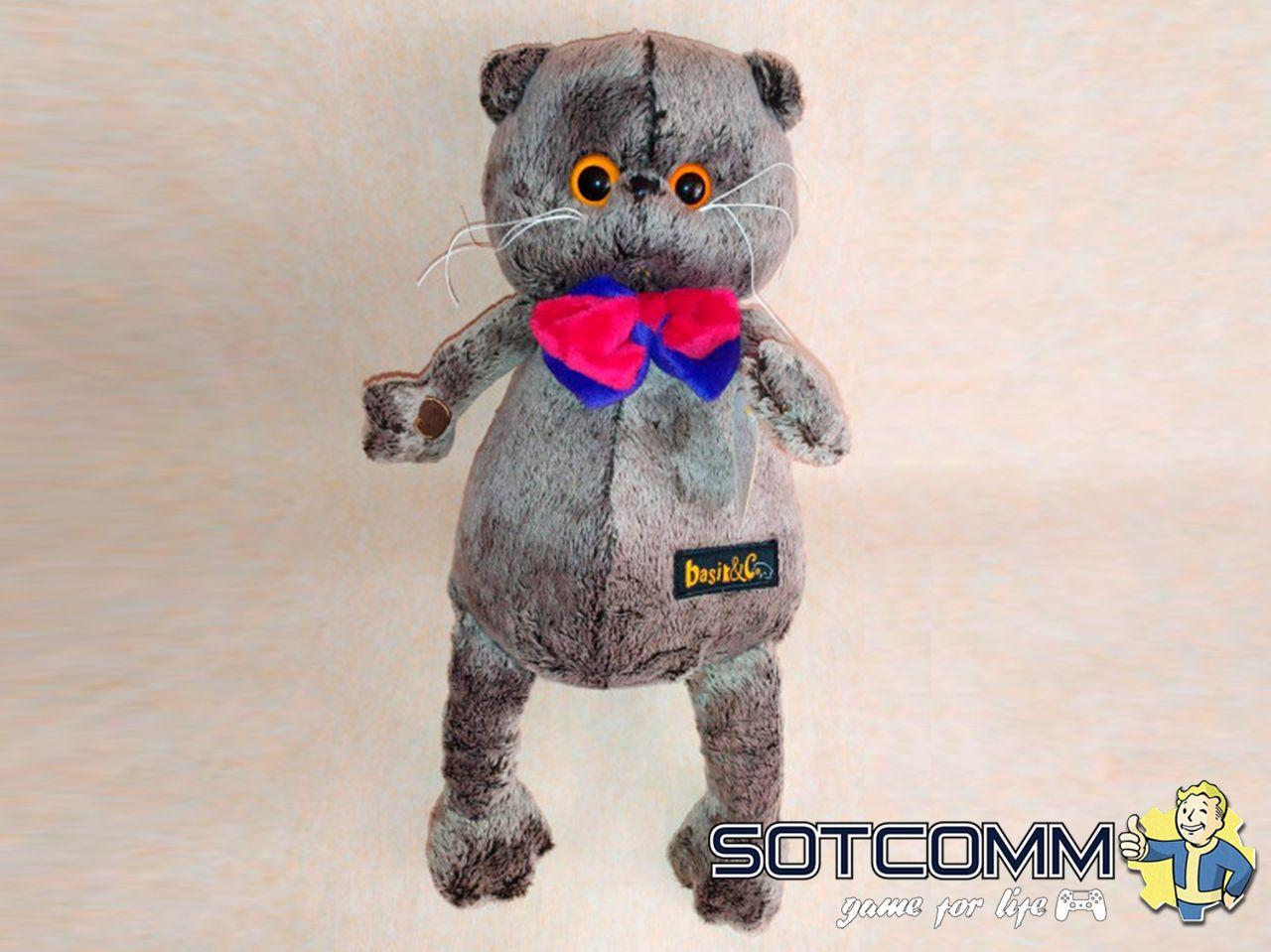 Плюшевый кот Басик 33 см
