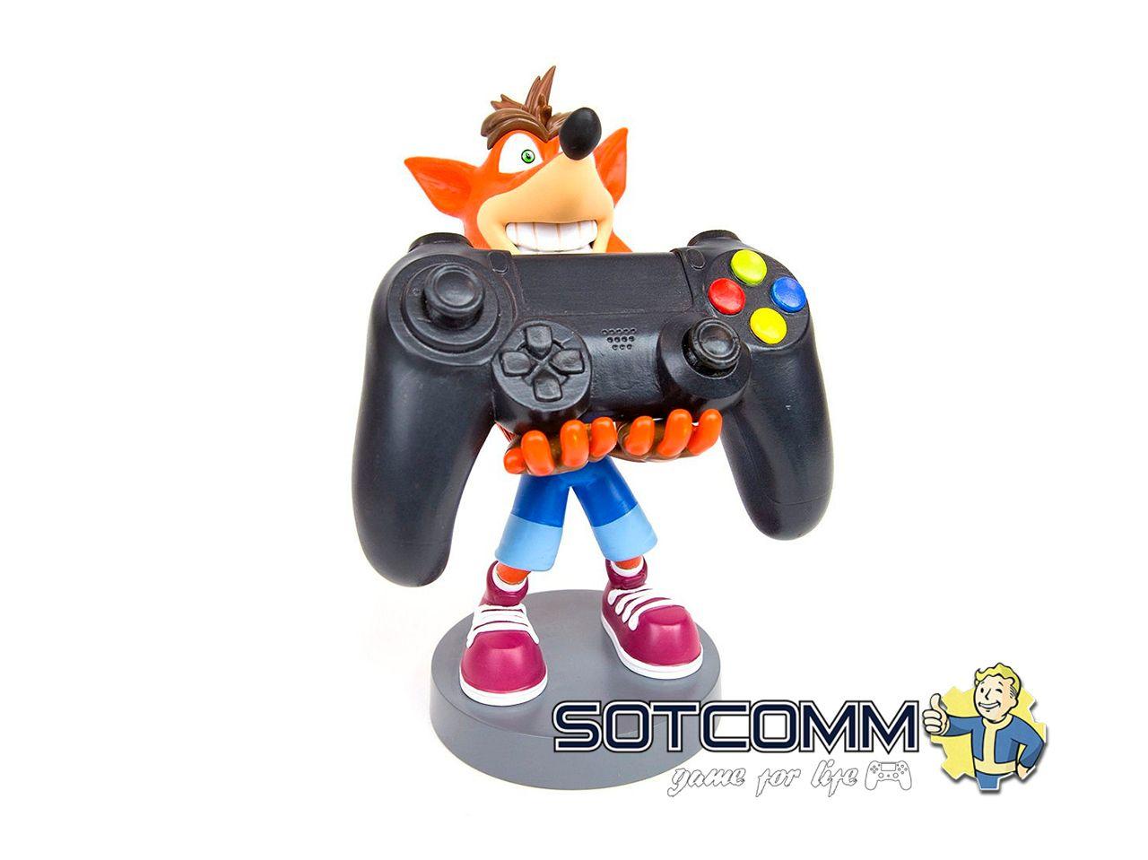 Фигурка-подставка Cable guy: Crash Bandicoot
