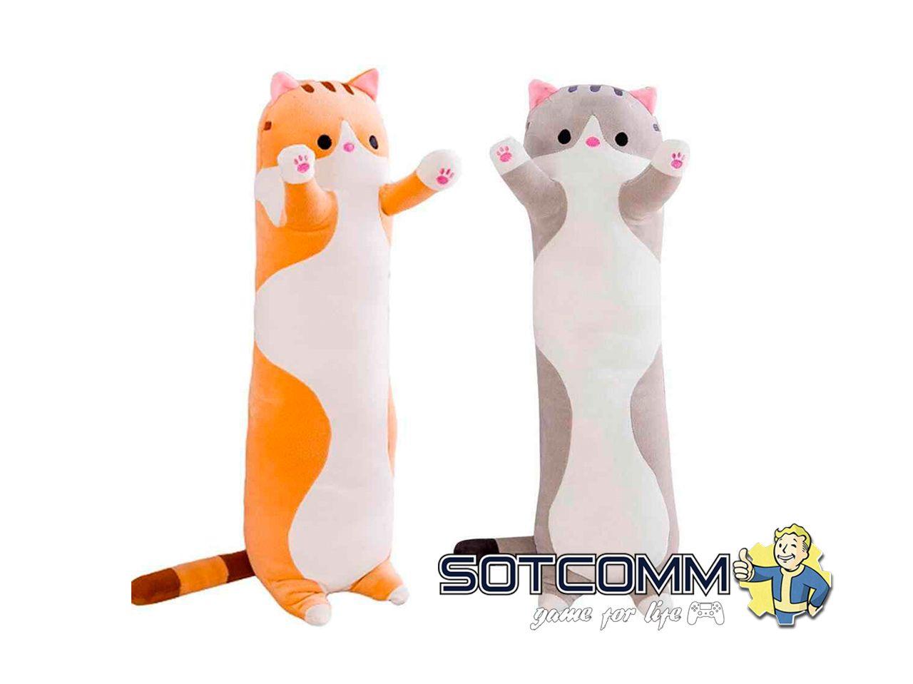 Игрушка-подушка Длинный кот