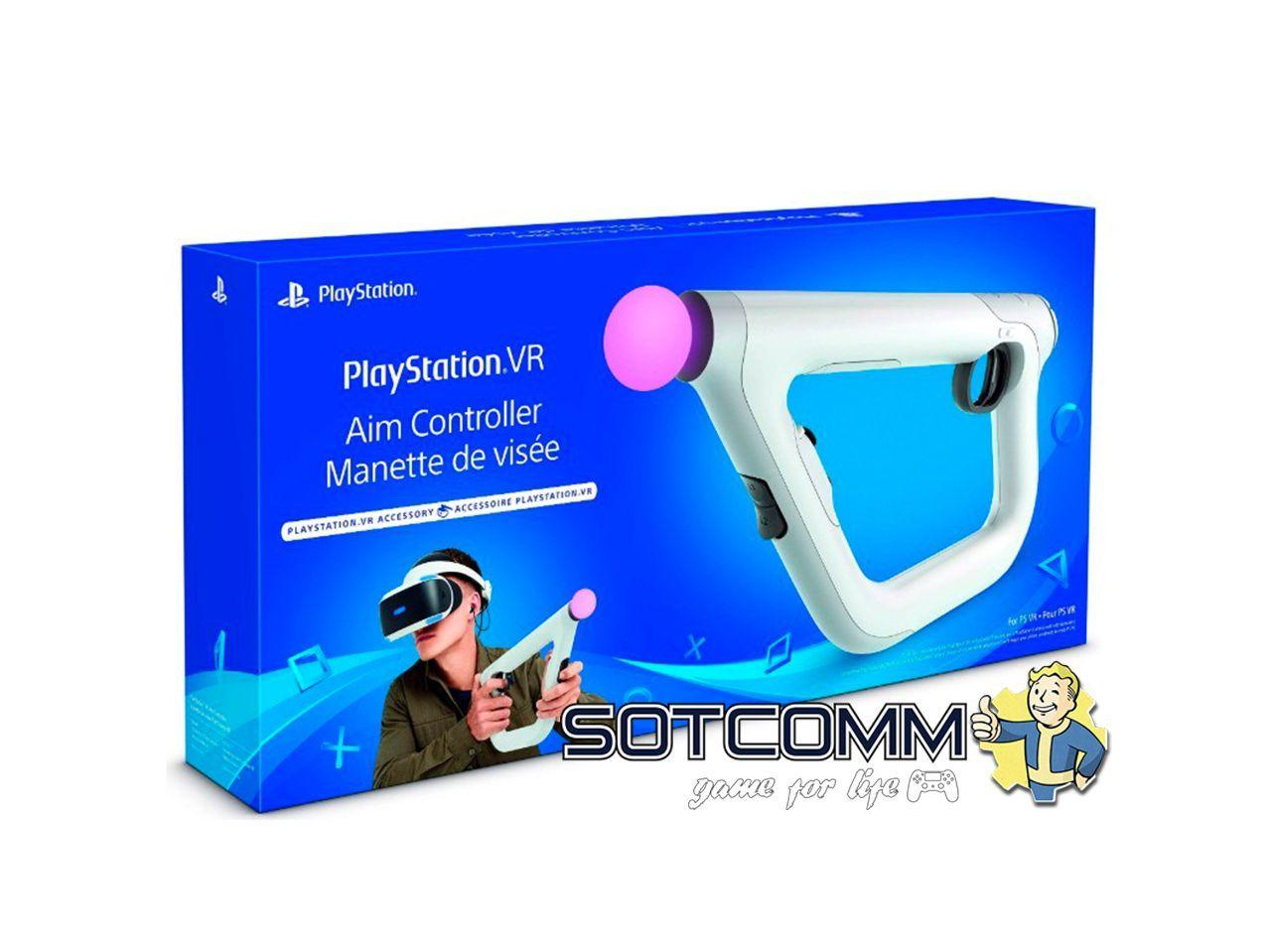 Контроллер прицеливания PlayStation 4 VR aim controller