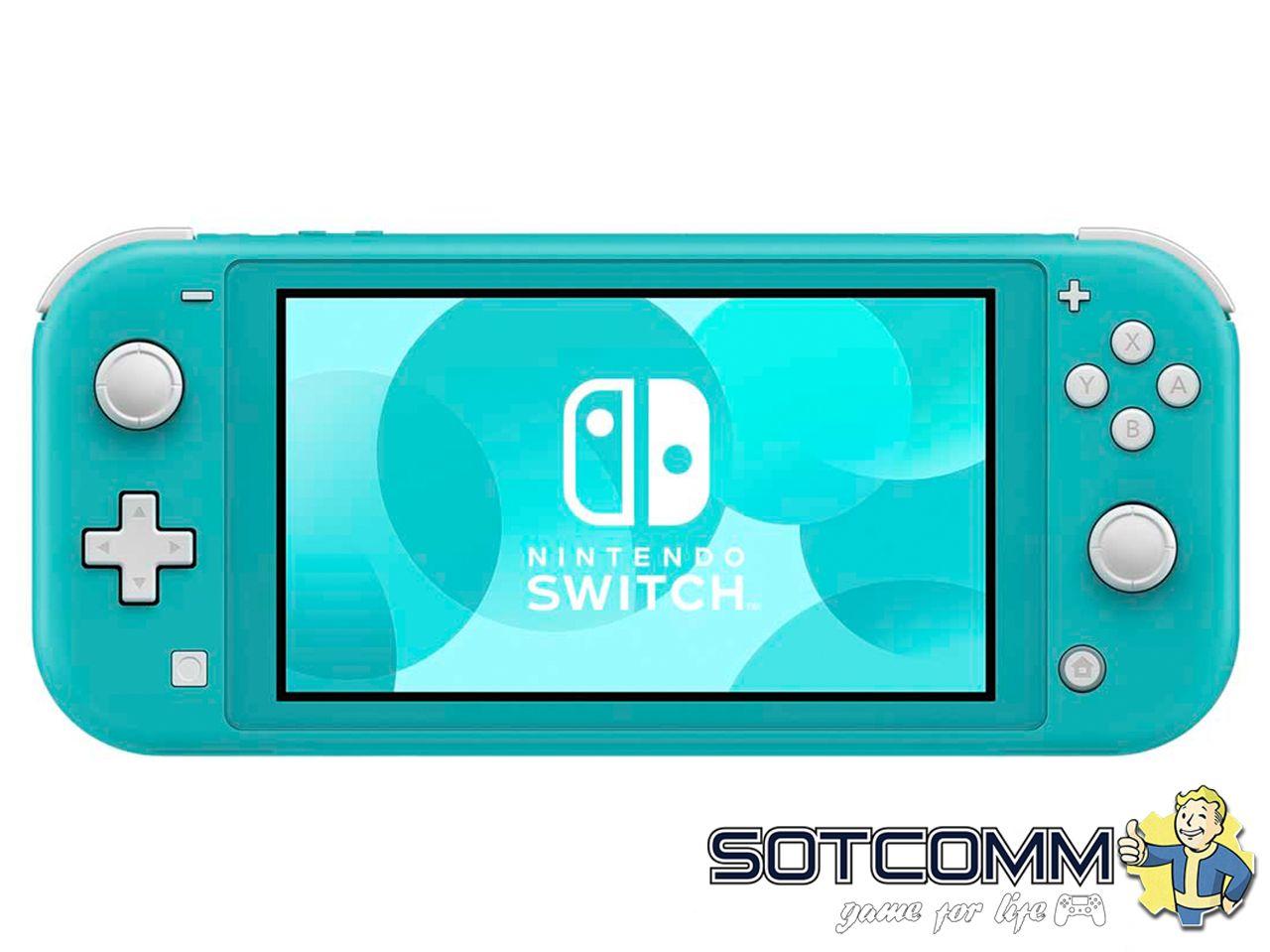 Nintendo Switch Lite Бирюзовая