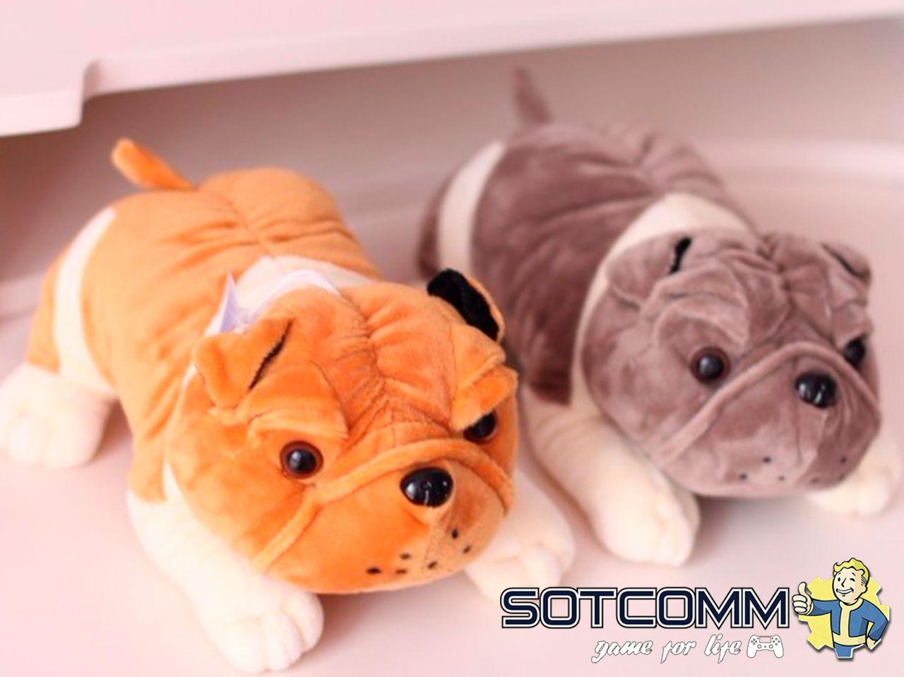 Плюшевый Бульдог подушка-игрушка
