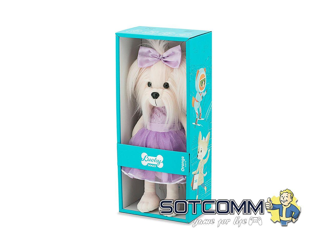 Плюшевая собачка Orange Toys / Lucky Doggy
