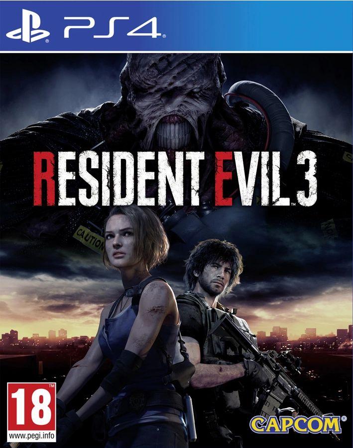 Resident Evil 3 2020 (PS4)