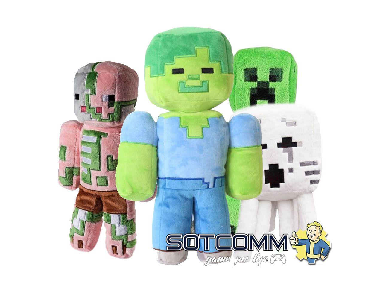 Мягкая игрушка Minecraft 25 см