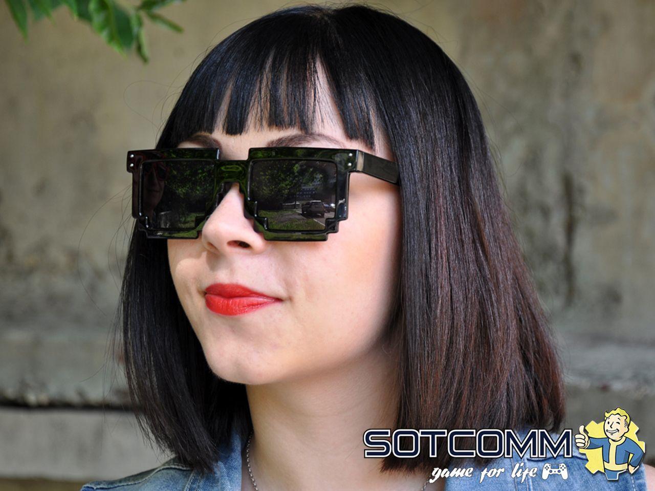 Пиксельные очки Minecraft (Ray-Ban)