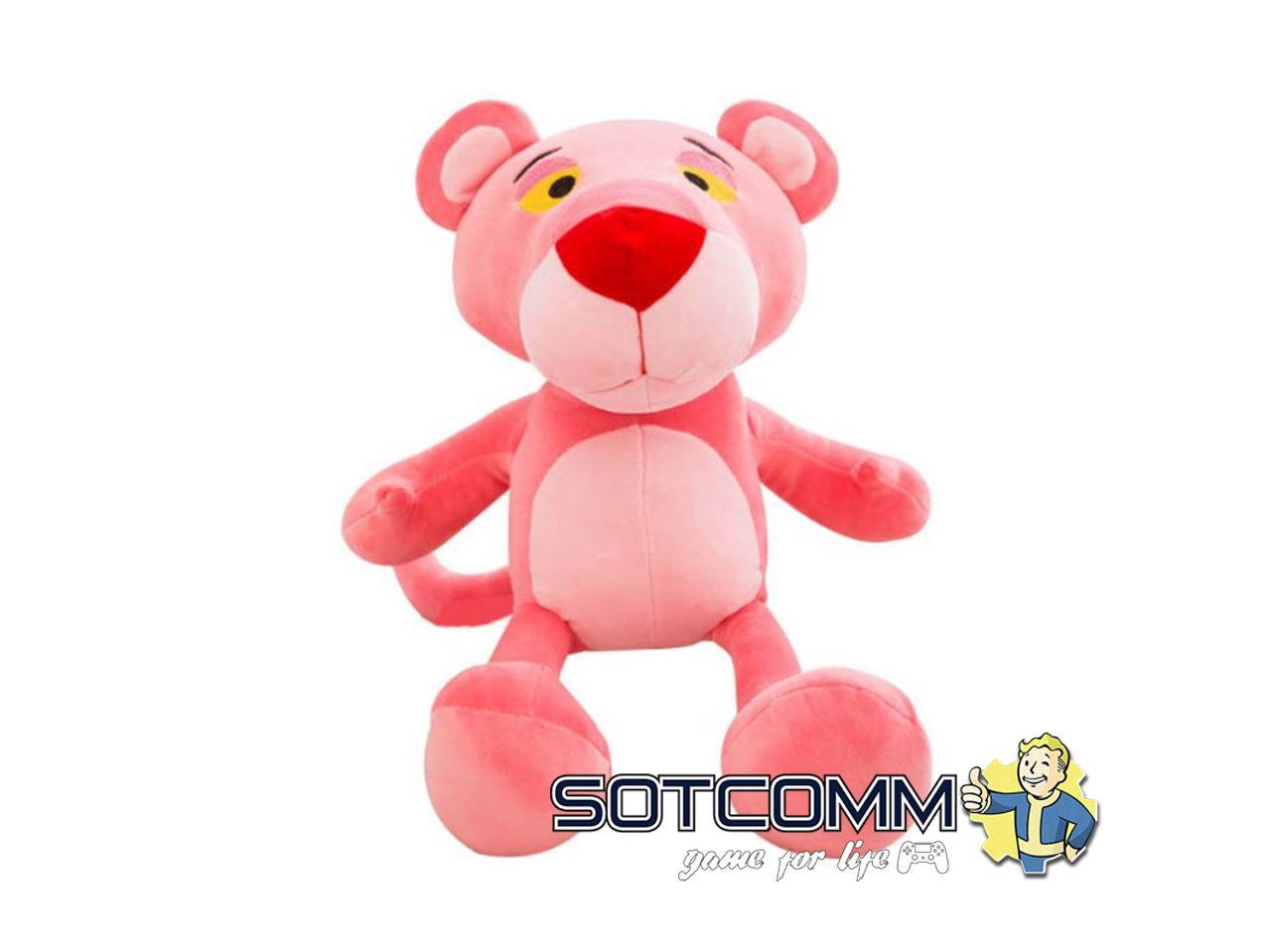 Плюшевая Розовая Пантера 30 см