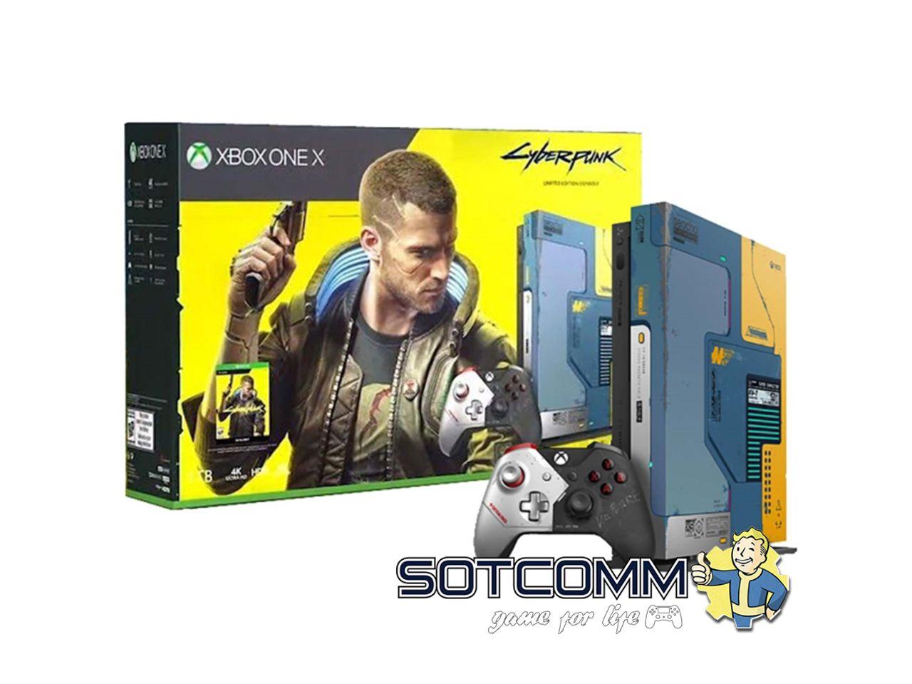 Xbox One Microsoft X 1TB + Cyberpunk 2077