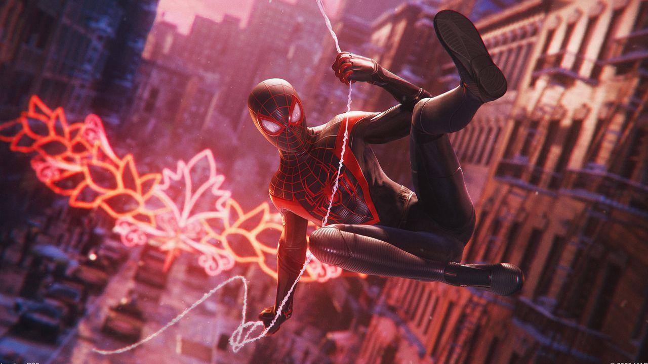 Marvel Человек-Паук: Майлз Моралес (PS5)