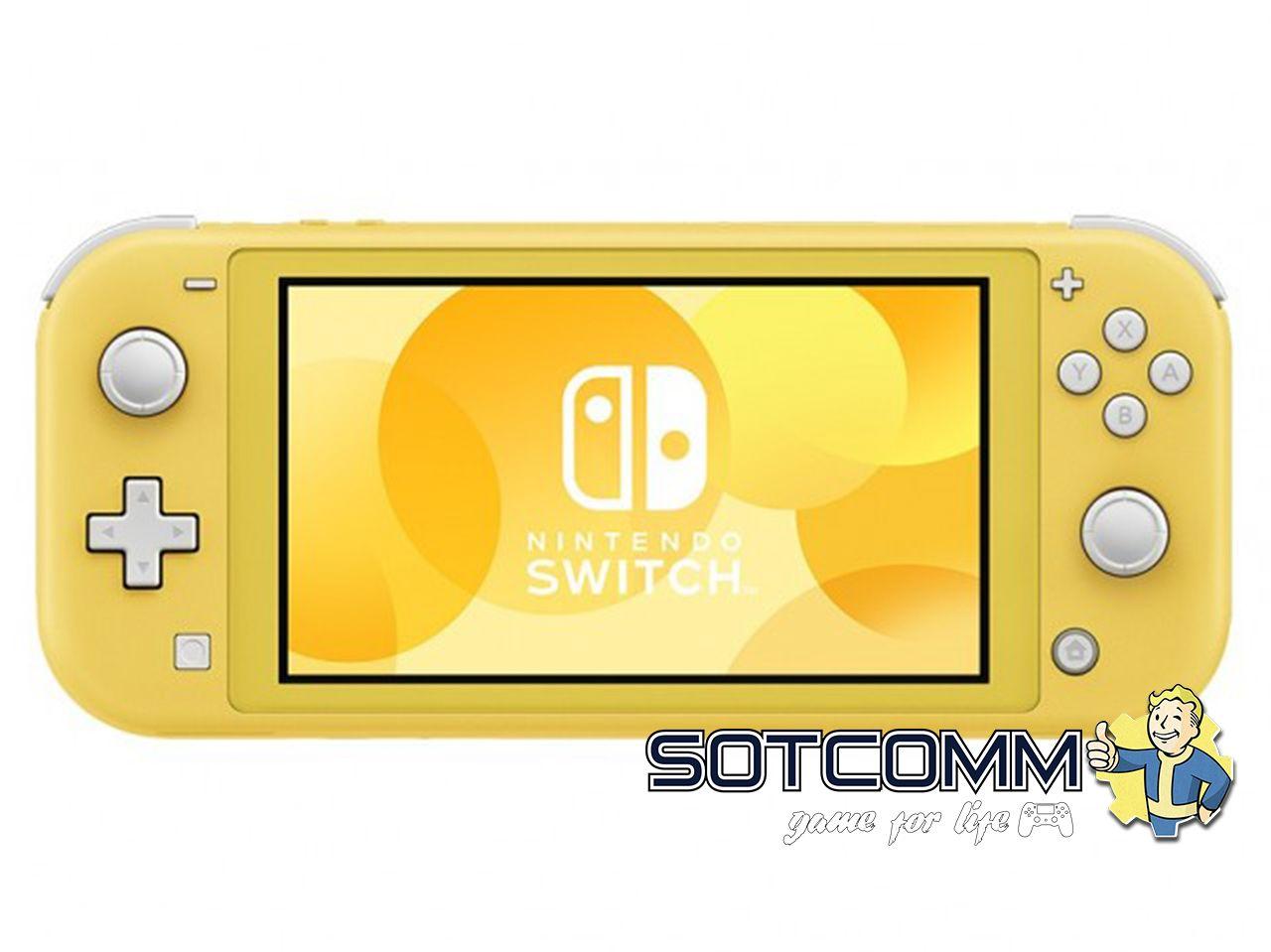 Nintendo Switch Lite Желтая