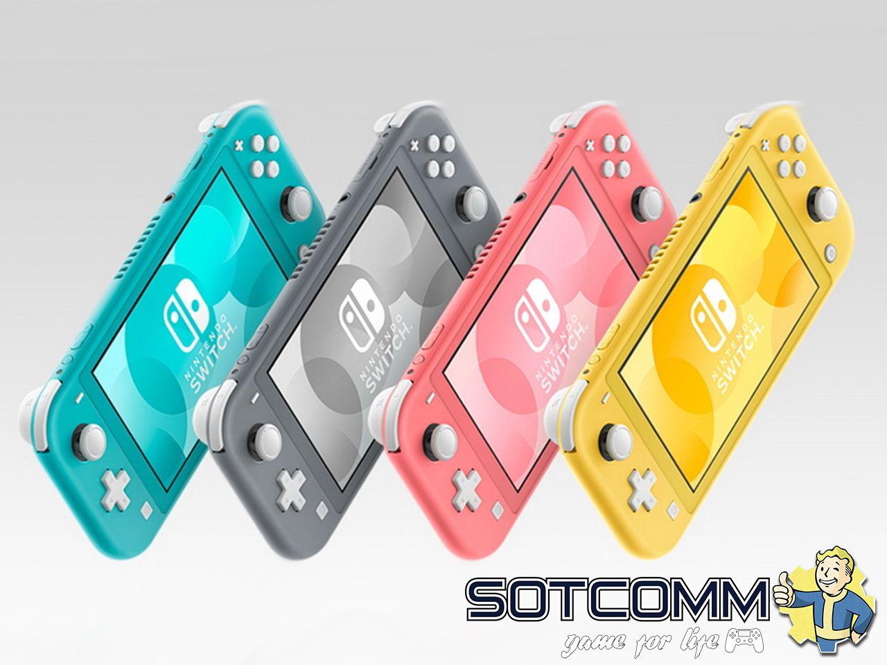 Nintendo Switch Lite colors цвета