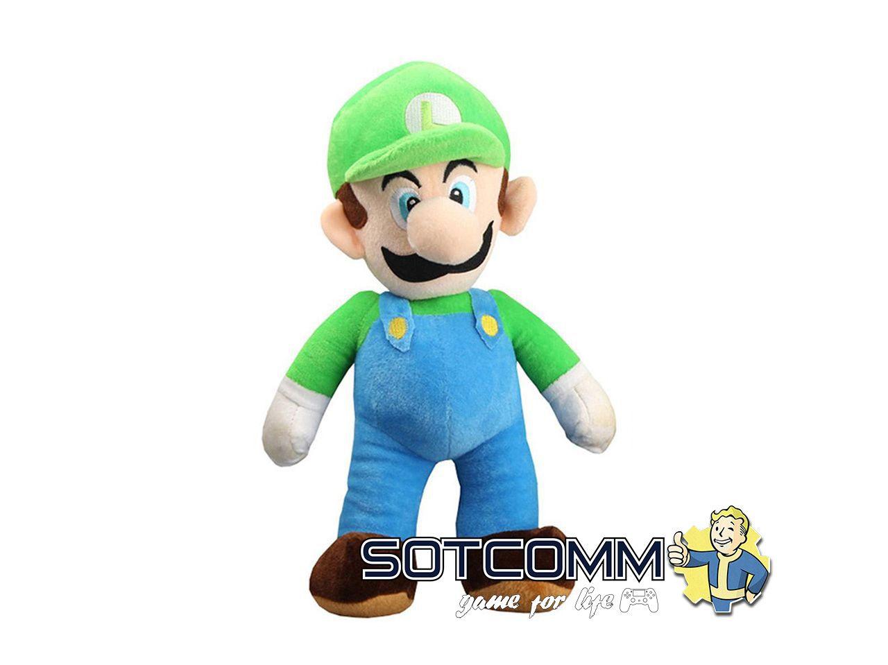 Super Mario: плюшевый Луиджи 25 см