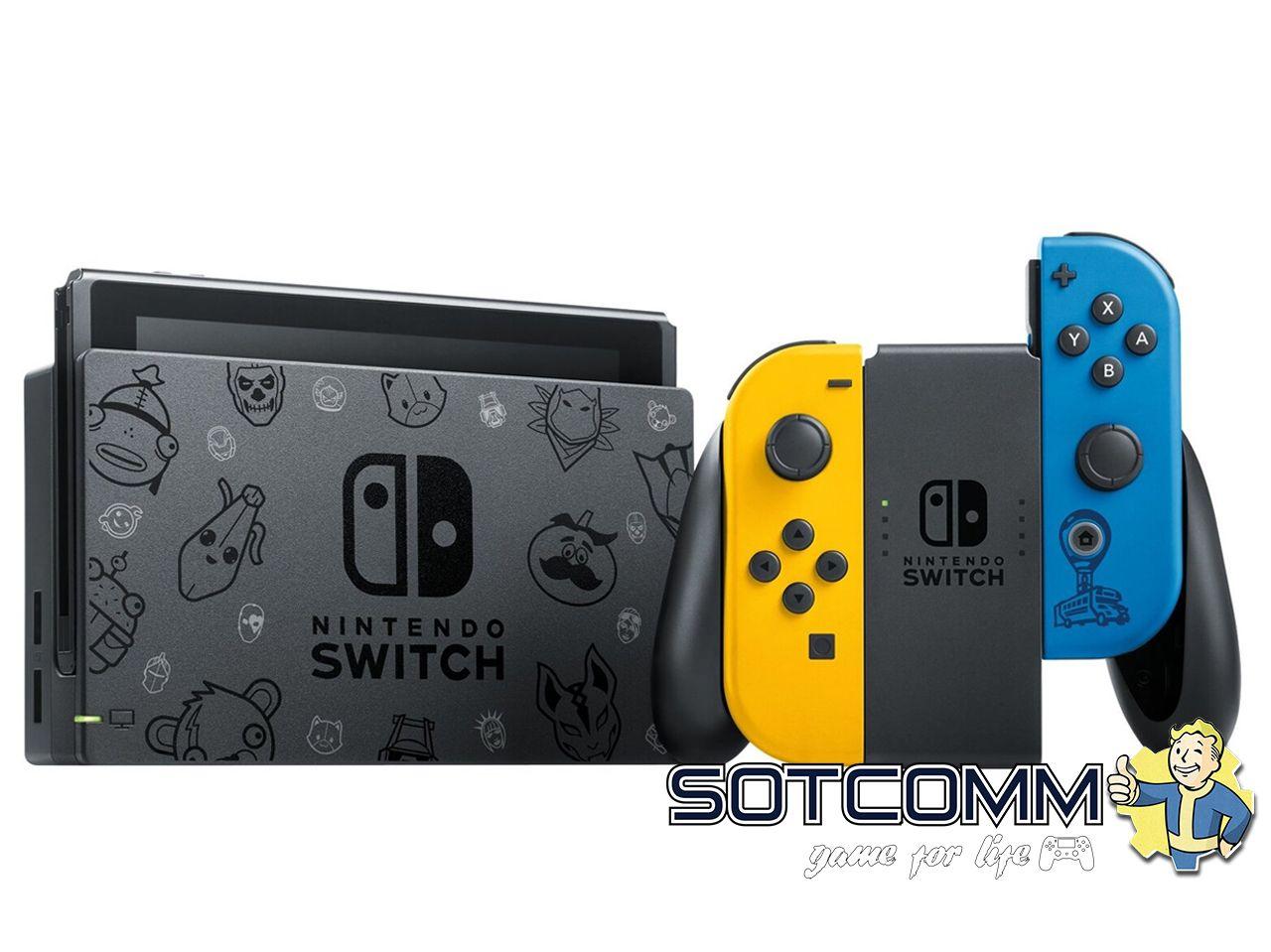 Nintendo Switch. Издание Fortnite