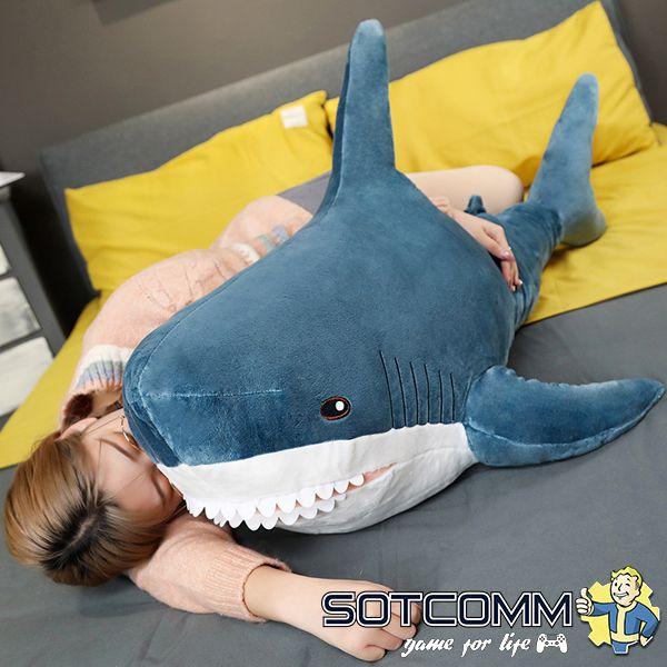 Плюшевая акула из Икеи 160 см