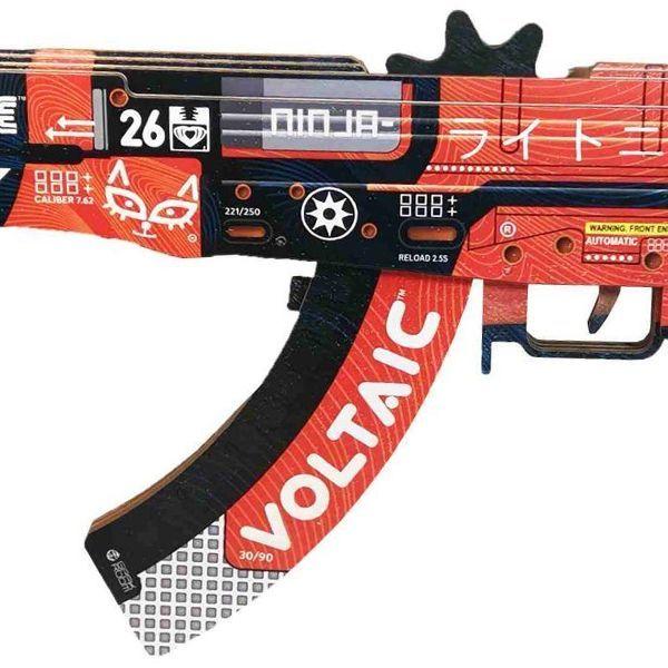 Деревянный автомат CS:GO | AK 47 Кровавый спорт
