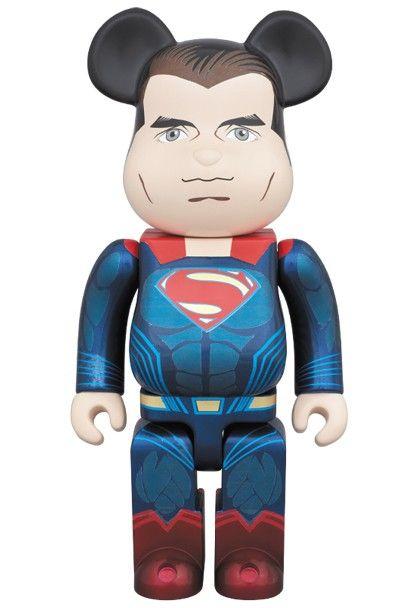 Bearbrick — SUPERMAN 400%