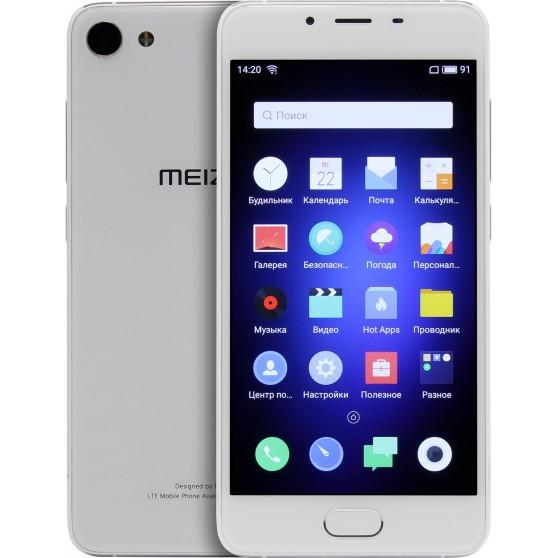 Meizu U10 16Gb Silver