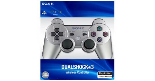 Джойстик беспроводной Controller Wireless Dual Shock 3 Silver (PS3)