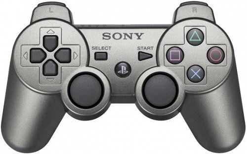 Джойстик геймпад dualshock 3 (серебро) PS3