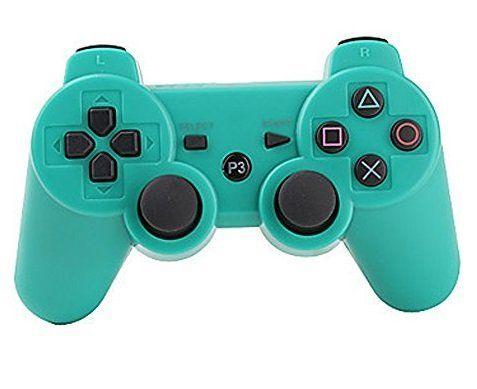 Джойстик геймпад dualshock 3 (зелёный) PS3