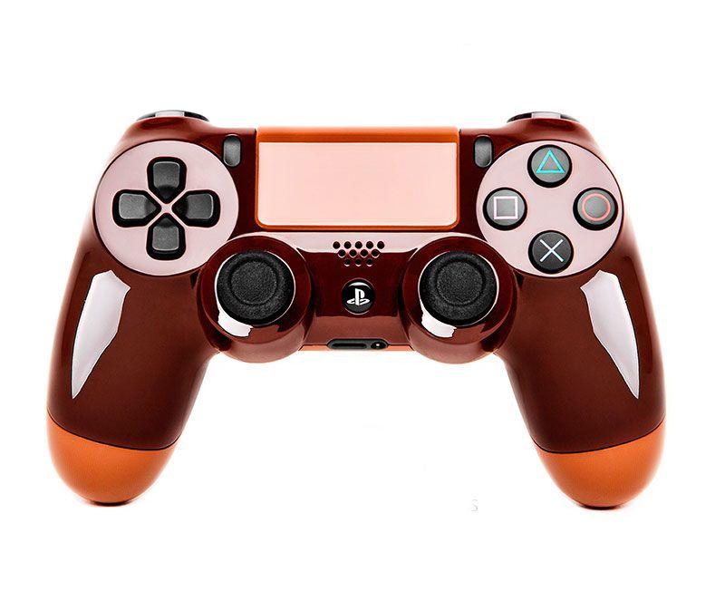 Геймпад DualShock 4 ВЕДЬМАКОВЫЙ КОРИЧНЕВЫЙ (PS4)