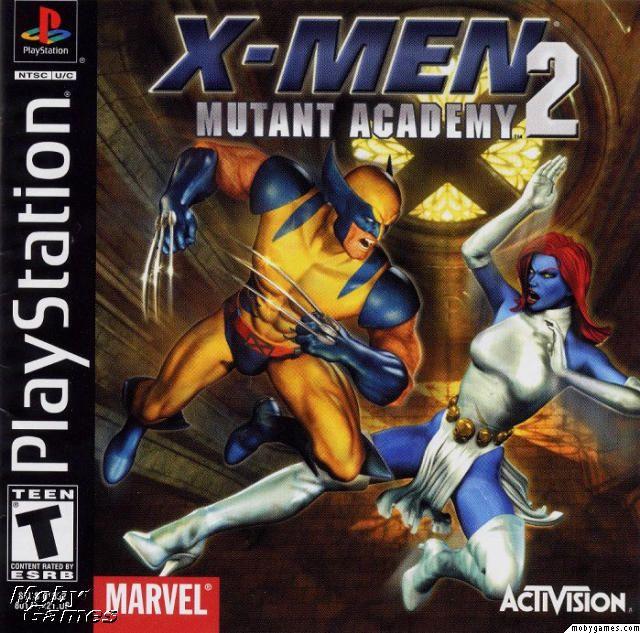 X-Men: Mutant Academy 2 (rus) (DruchaPucha) (PS1)
