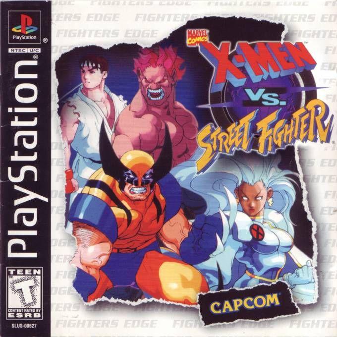 X-Men vs. Street Fighter (eng) (PS1)