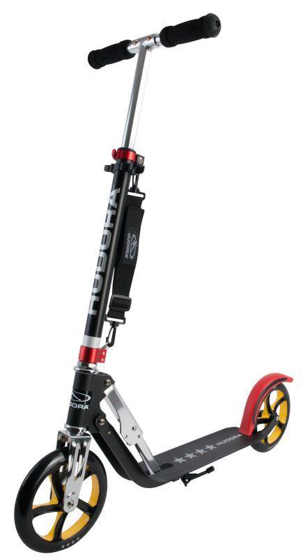 Hudora Big Wheel RX-Pro 205 Schwarz/Rot/Gold