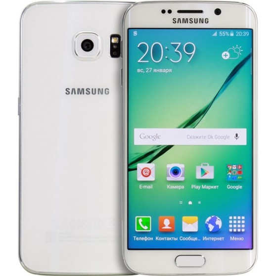 Samsung Galaxy S6 Edge SM-G925F 32Gb White