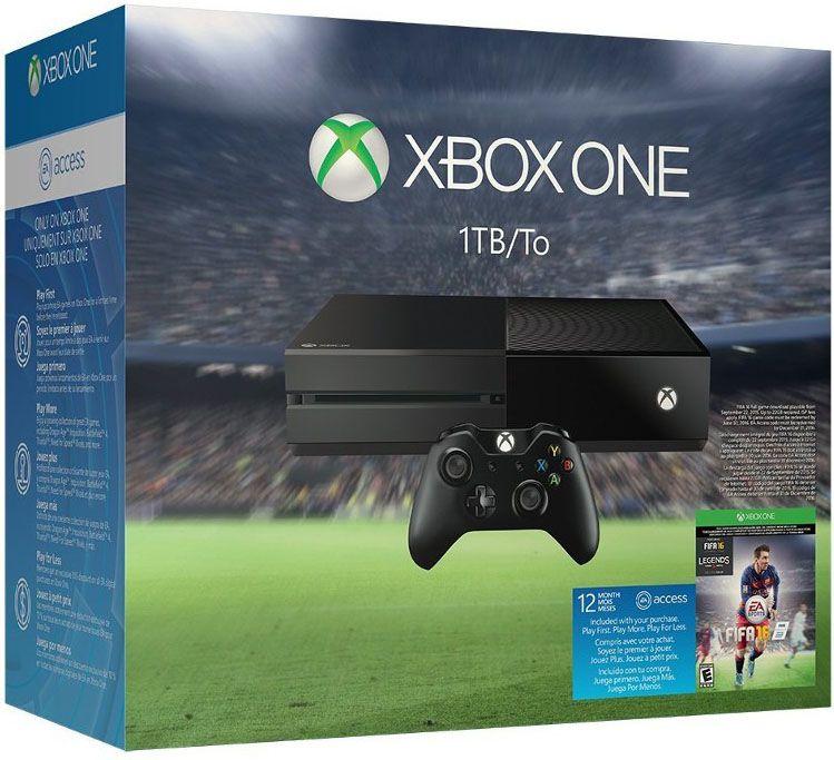 Игровая консоль Microsoft 500Gb + FIFA 16