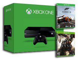 Игровая консоль Xbox One 500GB + Ryse: Son of Rome LE + Forza 5