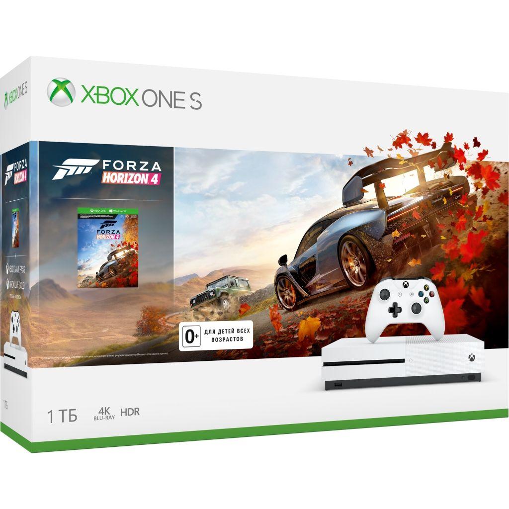 Игровая консоль Xbox One S 1 TB + игра Forza Horizon 4