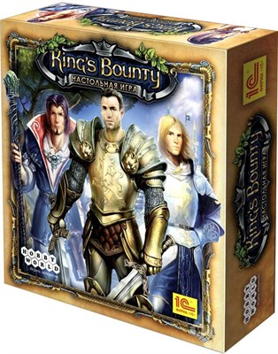 Настольная игра: Кингс Баунти (King's Bounty) (2-е рус. изд), арт 1046
