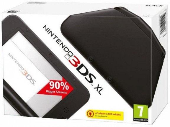 Nintendo 3DS XL HW Black NEW