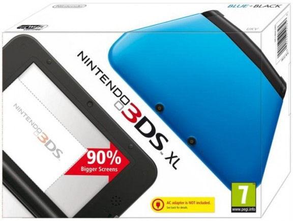 Nintendo 3DS XL HW  Blue NEW