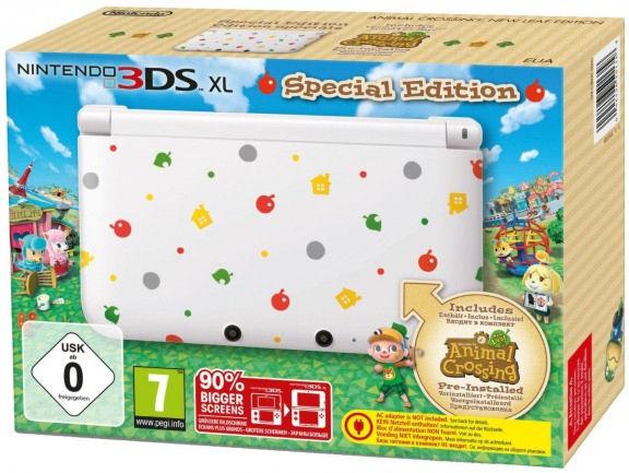 Nintendo 3DS XL HW White + «Animal Crossing» (Preinstall) (NIC-2202232)