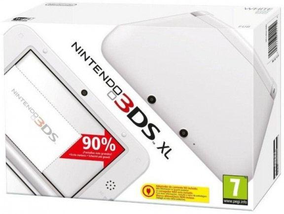 Nintendo 3DS XL HW White (NIC-2201732)