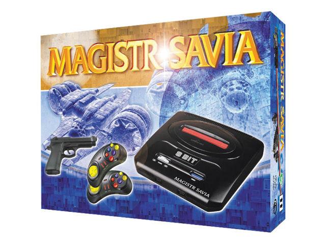 DENDY Магистр Savia (104 встроенных игры)