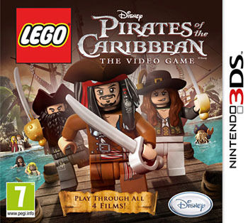 LEGO Pirates of the Carribean 3DS
