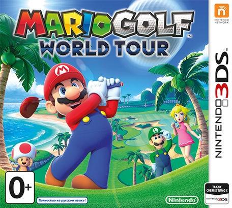 Mario Golf Tour (русская версия) 3DS