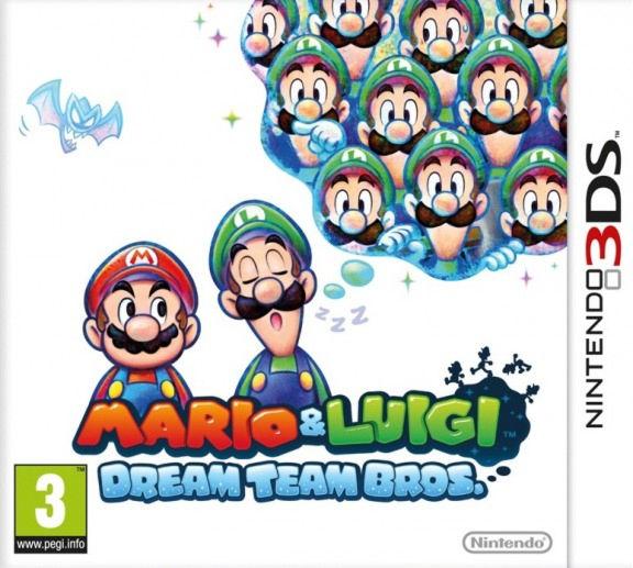Mario & Luigi: Dream Team (русская версия) 3DS