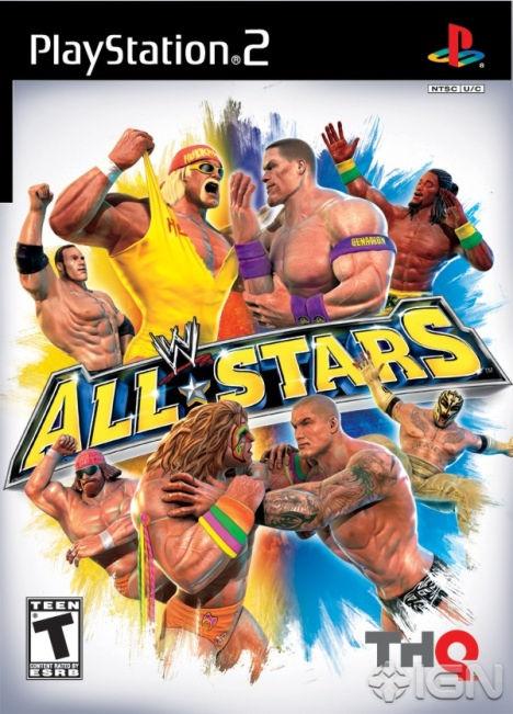 PS2  WWE All Stars (русская инструкция)