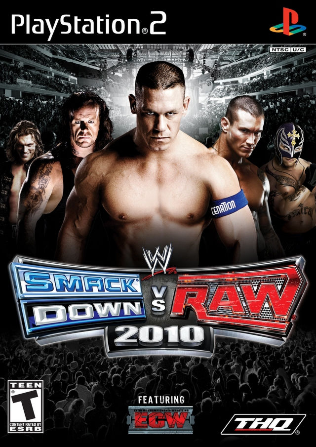 PS2  WWE Smackdown 2010