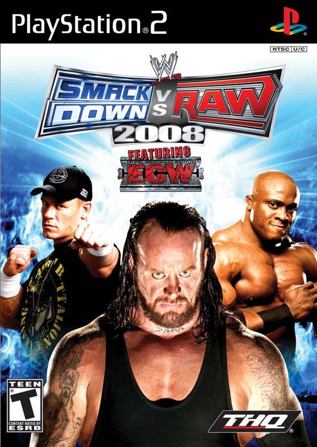 PS2  WWE SmackDown vs. RAW 2008 (русская инструкция)