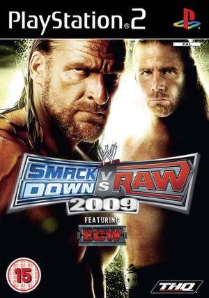 PS2  WWE Smackdown vs. Raw 2009  (русская документация)