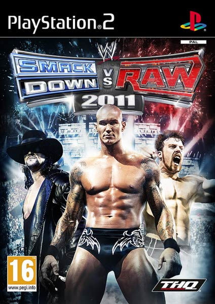 PS2  WWE Smackdown vs. Raw 2011  (русская документация)