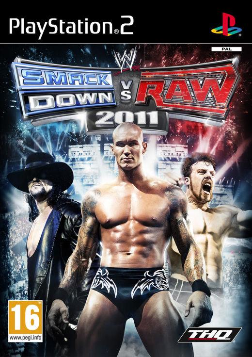 PS2  WWE Smackdown vs. Raw 2011